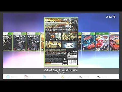 """4TB """"BEAST"""" Xbox 360 Slim RGH Trinity Aurora Dashboard 500+ games"""