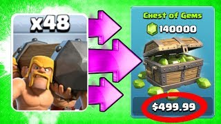 IF I LOOSE THIS CHALLENGE I OWE YOU $500!! 🔥 Clash Of Clans 🔥