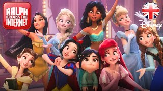 RALPH BREAKS THE INTERNET | She is a Princess Clip | Official Disney UK