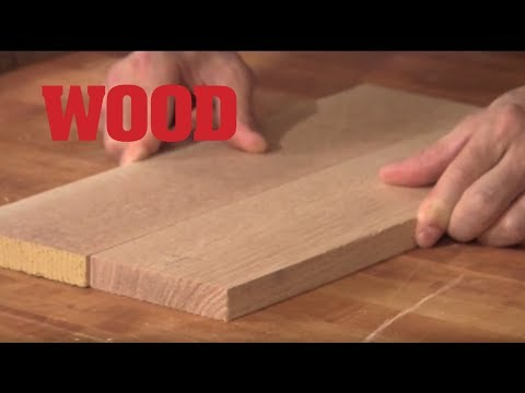 How To Make An Edge To Edge Glue Joint - WOOD magazine
