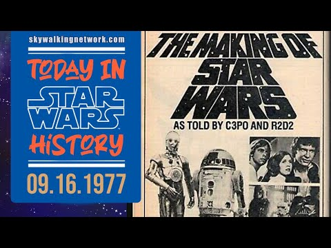 """TODAY IN STAR WARS HISTORY: 9/16/1977 - """"The Making of Star Wars"""" is Broadcast on ABC-TV"""