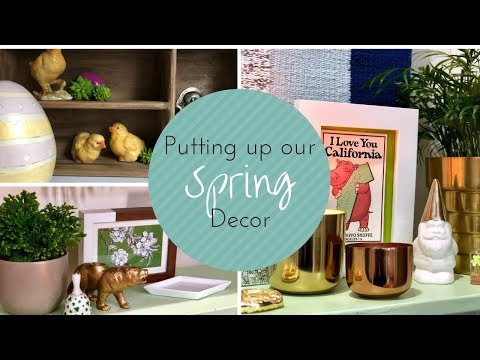 SPRING DECOR COLLECTION - ST. PATRICK'S DAY AND EASTER DECORATIONS