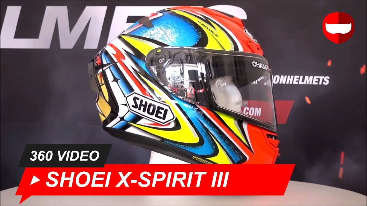 00078d563fa Shoei X-Spirit III Daijiro TC-1 Full-Face Helmet Unboxing - ChampionHelmets. com