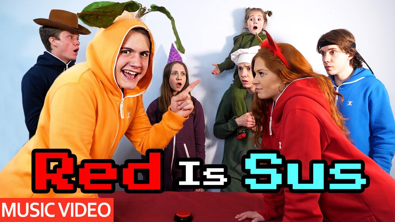 Red Is Sus - Among Us Song