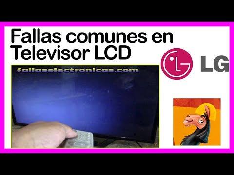 ▶️  Fallas Comunes En Televisor LCD LG ✔️