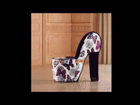 High Heel Shoe Chair   Animal Print High Heel Shoe Chair | Best Design  Picture Ideas For