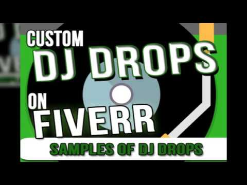 3 Custom DJ Drops for only $5