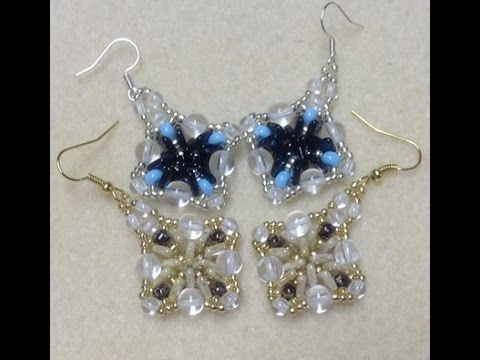 Triangle Dangle Earrings Tutorial