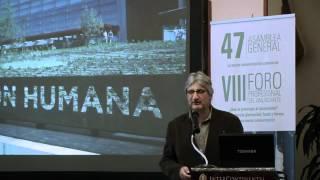aea VIII Foro La inesperada glaciación Enrique Baquedano Arqueólogo 1 de 2 vídeo oficial