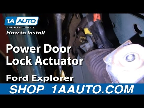 Power lock for 2000 ford expedition window off track