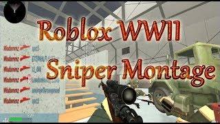 ROBLOX WWII MONTAGE (INSANE BANGERS) @Wisdom_m8
