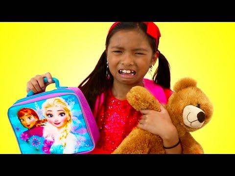 First Day of School Song   Wendy Pretend Play Nursery Rhymes & Kids Songs