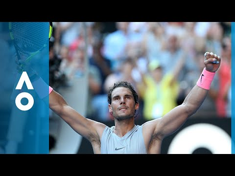 Rafael Nadal v Leonardo Mayer match highlights (2R) | Australian Open 2018