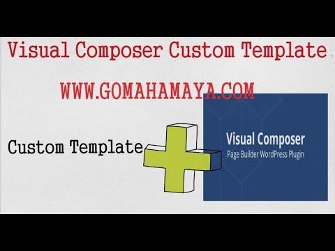 Visual Composer Tutorial For Beginners Visual Composer Custom