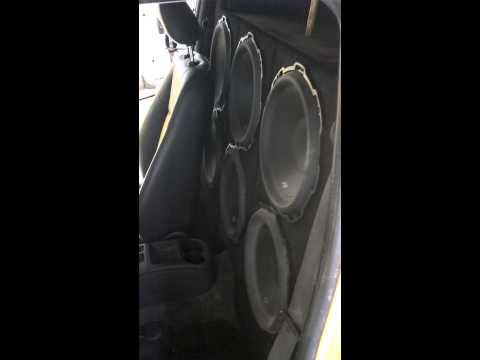 AUDIO EXTREME COBALT WITH 6 ROCKFORD P2 12's