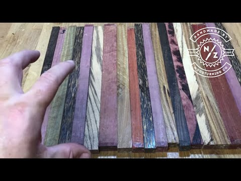 How to make an exotic cutting board from scraps of wood