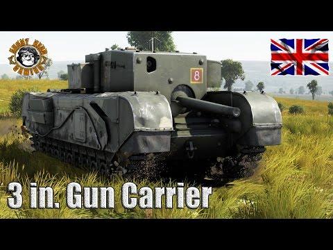 War Thunder: 3 Inch Gun Carrier, British Tier-2, Tank Destroyer