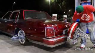 Houston Slab Scene - Slabs At Carros Pt.1 (Swang Action)
