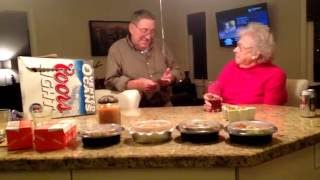 1st Baby Reveal to Great Grandparents