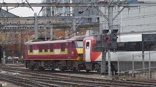 Trains at London King's Cross & London Euston (14/2/2018)