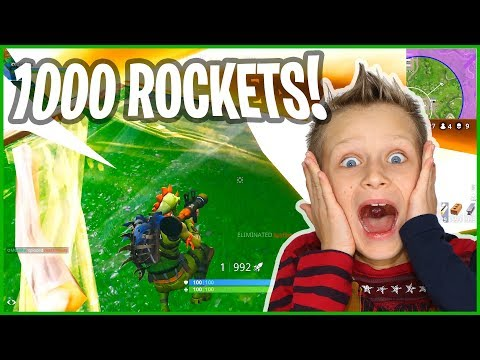 1000 Rockets All at ONCE!