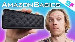 AmazonBasics Portable Speaker (BSK30) Review + Unboxing