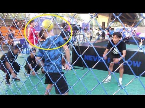 Đỗ Kim Phúc so tài với các siêu sao bóng đá Thái Lan !!!! Việt Nam sợ gì người Thái