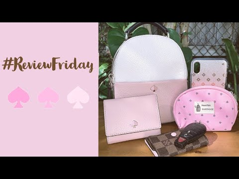 KATE SPADE ♠️ | Review Friday | What Fits Inside | Polly Mini Convertible Backpack