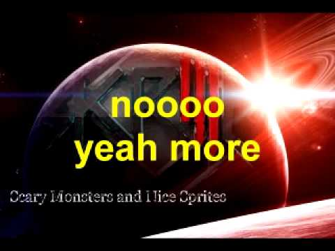 Skrillex-Scary Monsters and Nice Sprites (reversed lyrics)