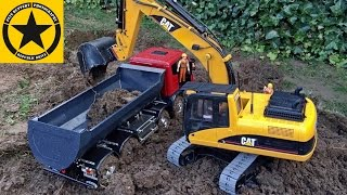 BRUDER EXCAVATOR Toys MAGOM RC Vehicles Heavy MUD BATTLE LONG PLAY