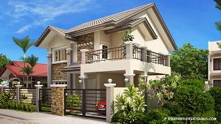 10 Models Of 2 Story Houses With Price, Free Floor Plan And Lay Out Design