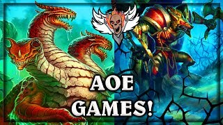 AOE Games ~ The Witchwood Hearthstone
