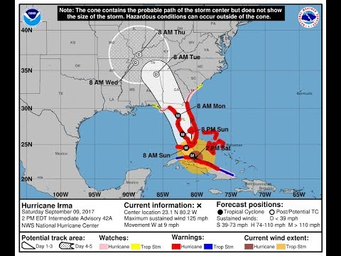 Hurrican Irma GEORGIA conference radio net Livestream