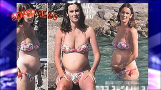 Silvia Toffanin incinta e in bikini,  l'attesa è dolcissima: «Sarà una femminuccia»