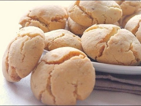 Recette de ghriba bahla moroccan traditional cookies - Youtube cuisine marocaine facile ...