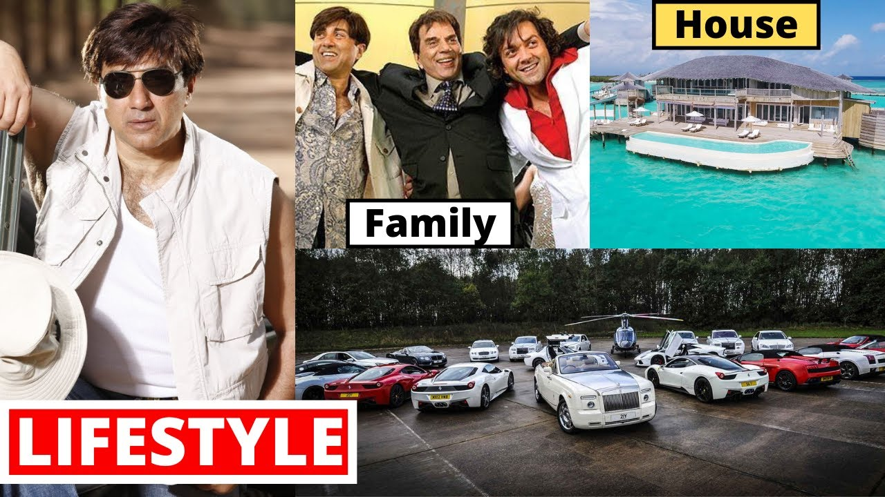 Sunny Deol Lifestyle 2020, Wife, Income, Son, House, Cars, Family, Biography, Movies & Net Worth