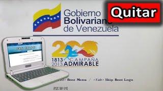 Canaima Liceo: Quitar La Imagen Del Gobierno
