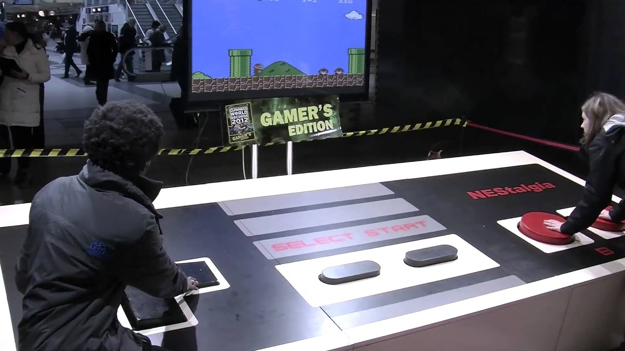 Worlds largest NES controller