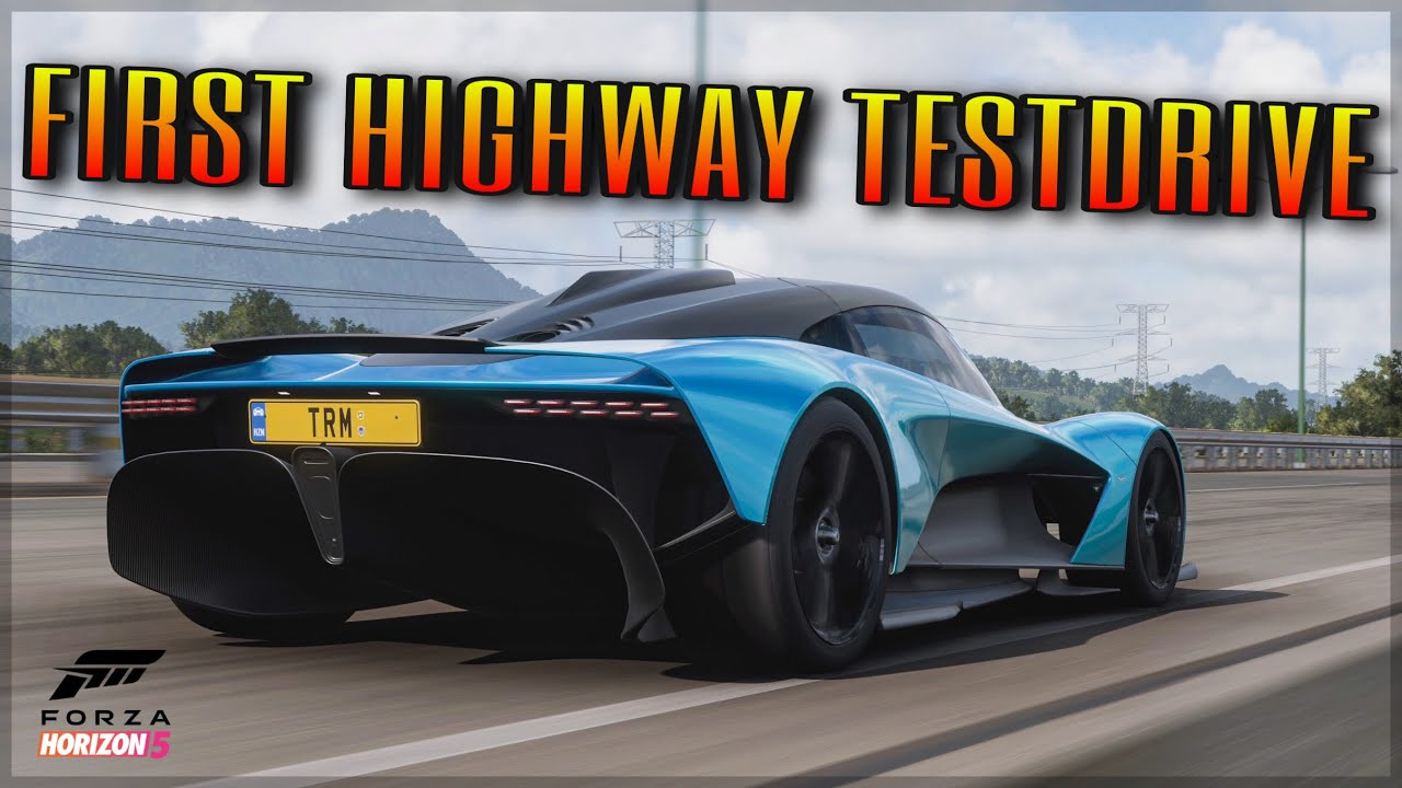 Forza Horizon 5 | NEW Aston Martin Valhalla Customization & Map Exploring!
