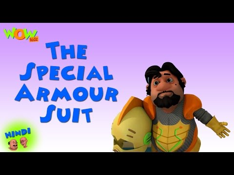 The Special Armour Suit - Motu Patlu in Hindi- ENGLISH, SPANISH & FRENCH SUBTITLES thumbnail