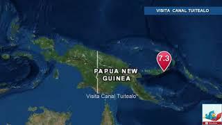 Sismo de magnitud 7 grados sacude Papúa Nueva Guinea; hay alerta de tsunami