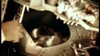 1961年1月31日ケープ・カナベラル宇宙基地から出発したマーキューリー・...