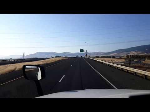 BigRigTravels LIVE! - La Grande to near Baker City, Oregon - Interstate 84 East - Sept 3, 2017