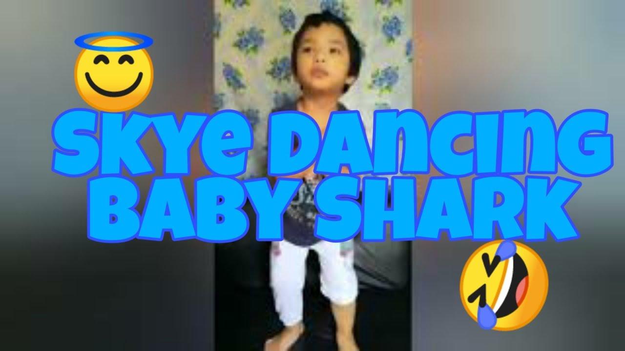 Skye dancing BABY SHARK 😁 - YouTube