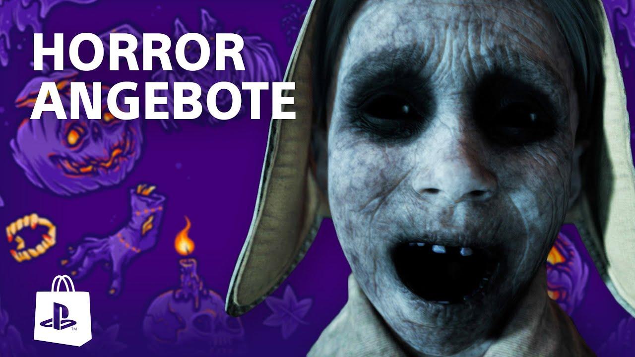 Die besten PS4 Halloween Games und Angebote