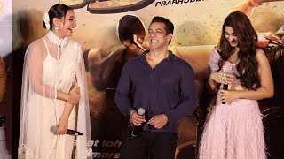 Salman Khan's Back To Back Hilarious FUNNY MOMENTS With Sonakshi At Dabangg 3 Trailer Launch