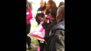 Roxanne Shante gets honored at Revived Hope Cancer Awareness Walk in Rosedale, Queens