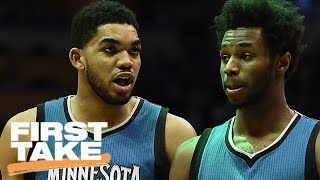 How Far Will Timberwolves Go Next Season? | First Take | June 30, 2017