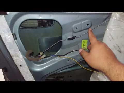Замена стеклоподъёмника ( моторчика) шевроле лачетти водительской левой двери.