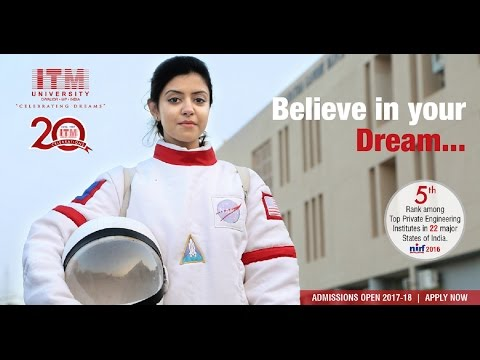 ITM University Gwalior Sound of Dreams (English)